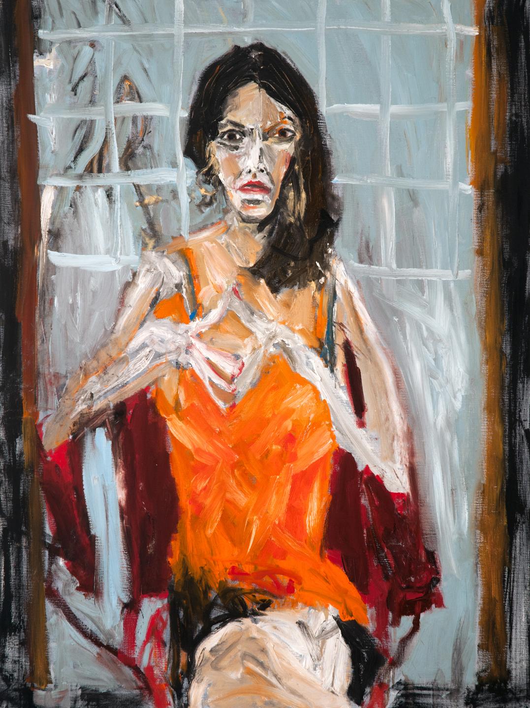 """Portrait of Rosebud Ben-Oni, "" by Michael Hafftka (2014)"