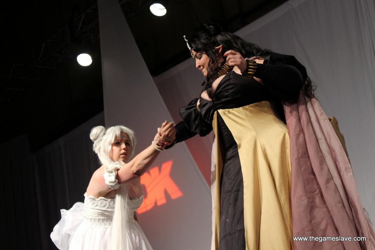 Queen Nehellinia & Queen Serenity from Sailor Moon