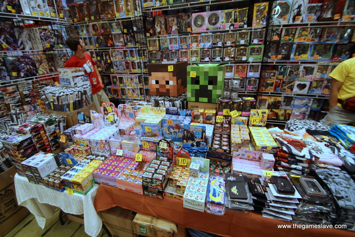 Best Anime Shop Booth
