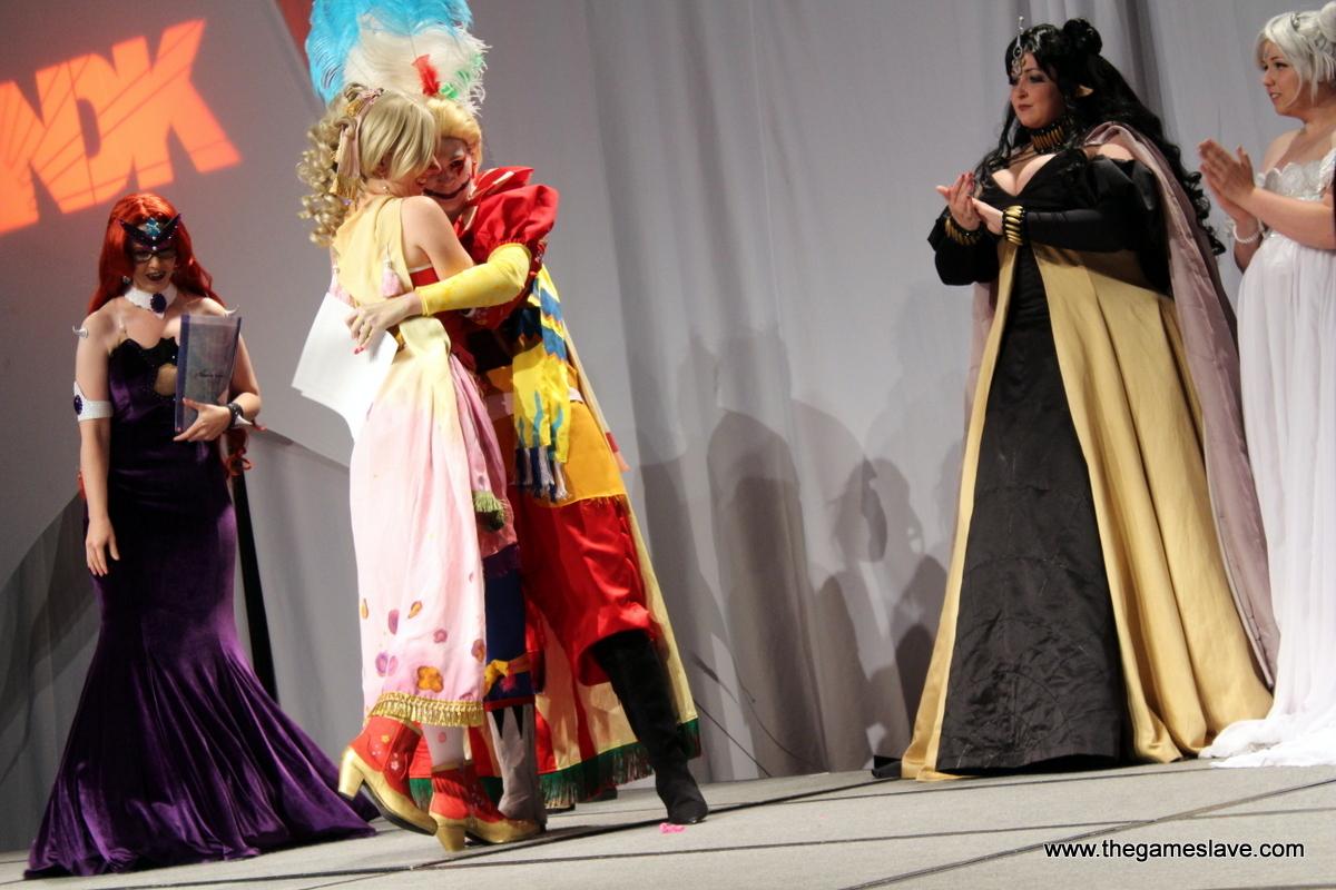 Terra and Kefka from Final Fantasy VI
