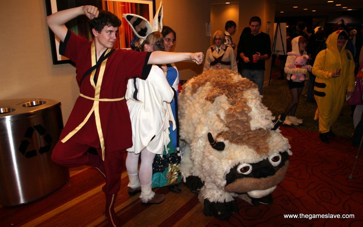 Zukko, Momo, Katara and Appa from Avatar: The Last Airbender
