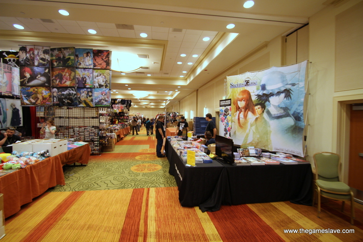 Dealer's Room with Funimation Booth