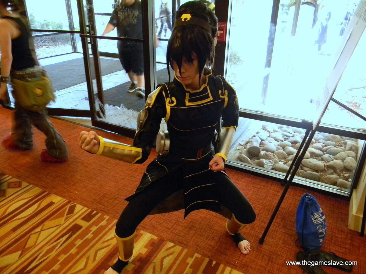 Toph Beifong in Metal-bender Officer Outfit from The Legendof Korra