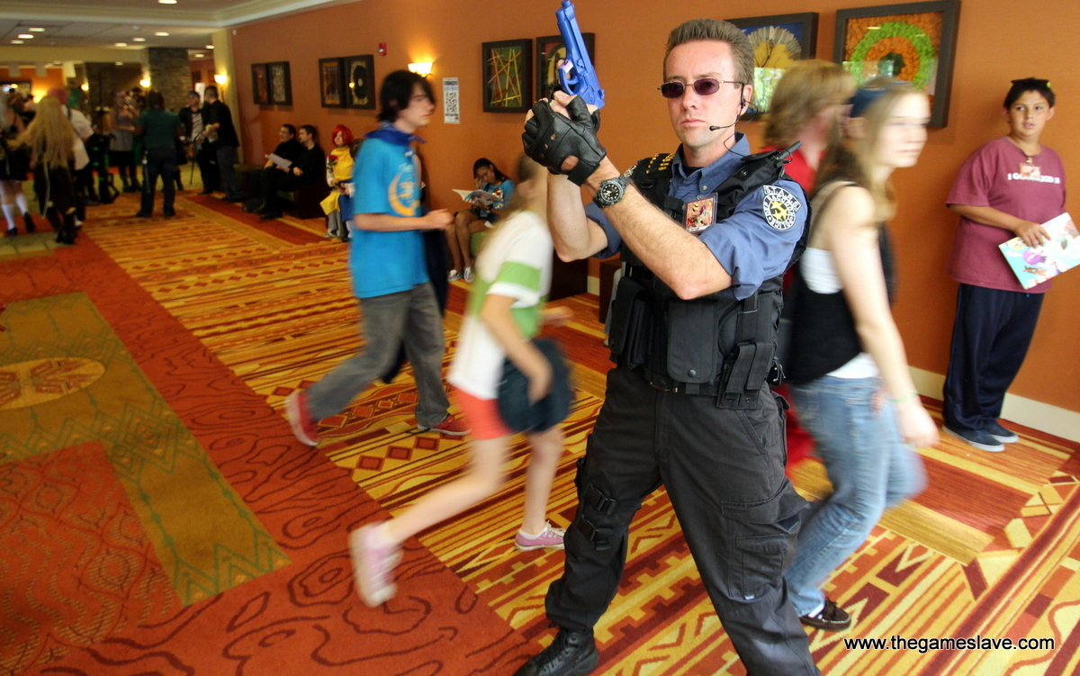 Raccoon City Officer from Resident Evil