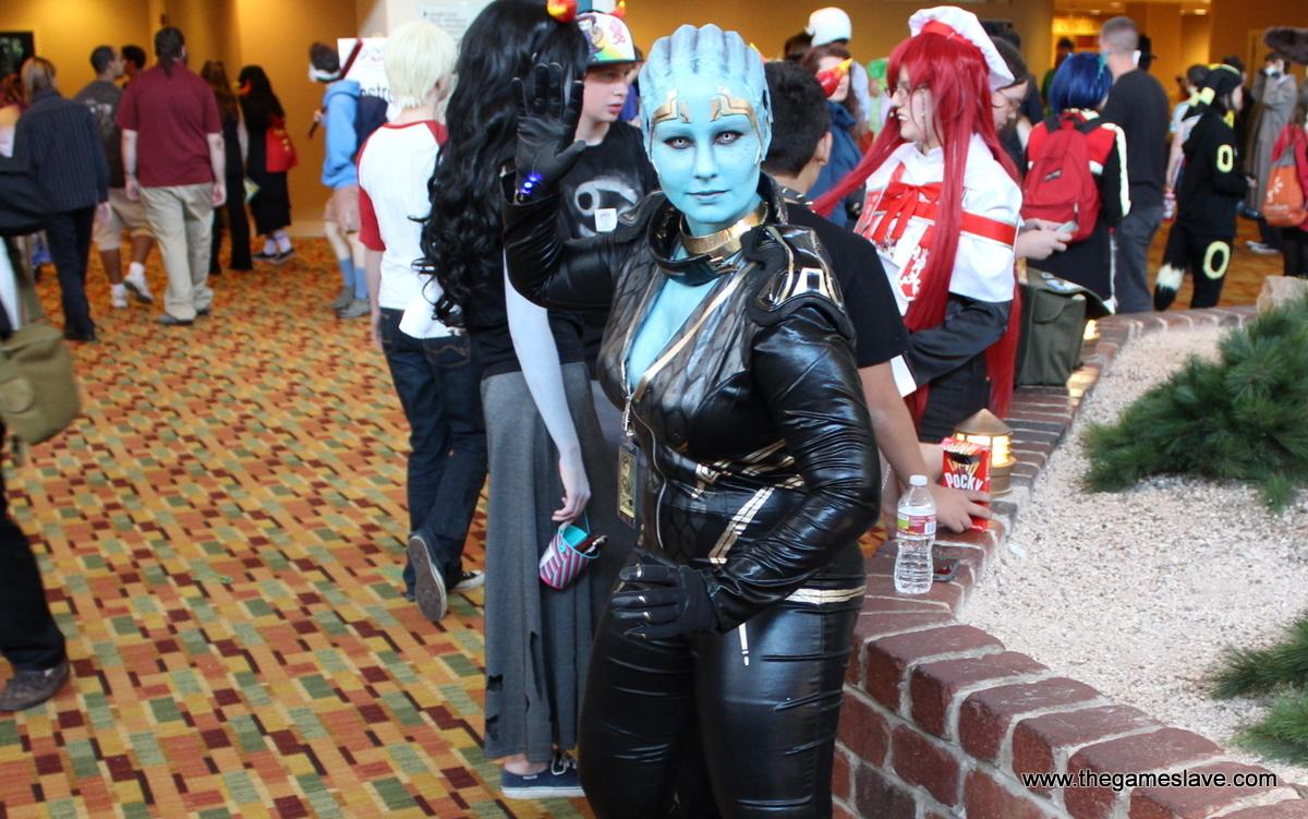 Asari from Mass Effect