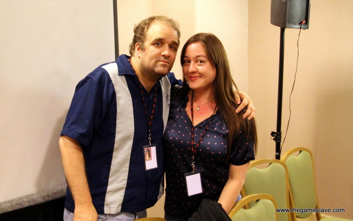 Randy Milholland and Clarine Harp