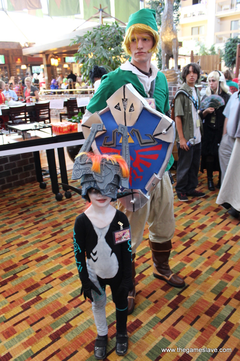 Midna and Link from the Legend of Zelda: Twilight Princess