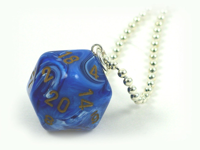 D20 Necklace