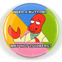 Zoidberg Button