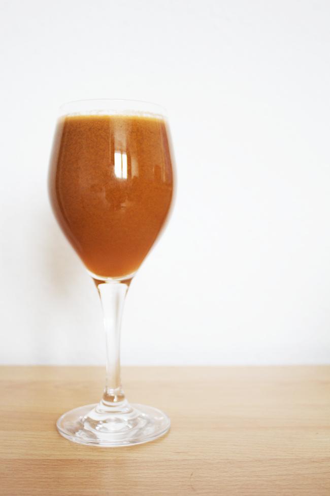 The orange drink