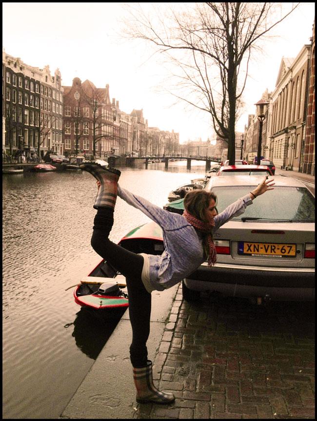 Yoga in Amsterdam