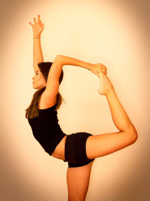 Natarajasana - dancer's pose