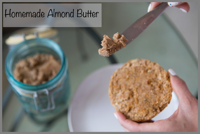 Pin it now, make it later- homemade almond butter