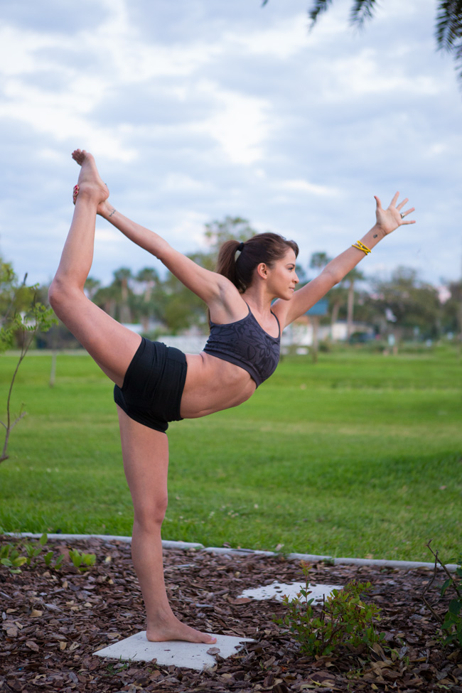 Tips for dancer's pose