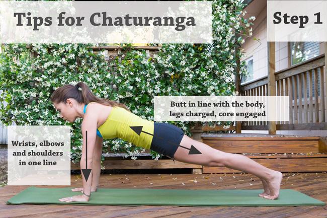 Tips for Chaturanga