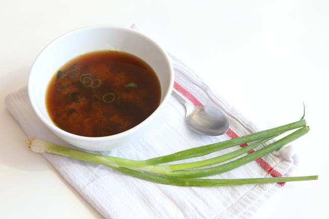 Miso soup recipe - pin it!