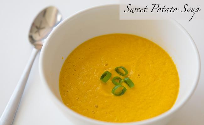 Easy to make sweet potato soup - Pin It!