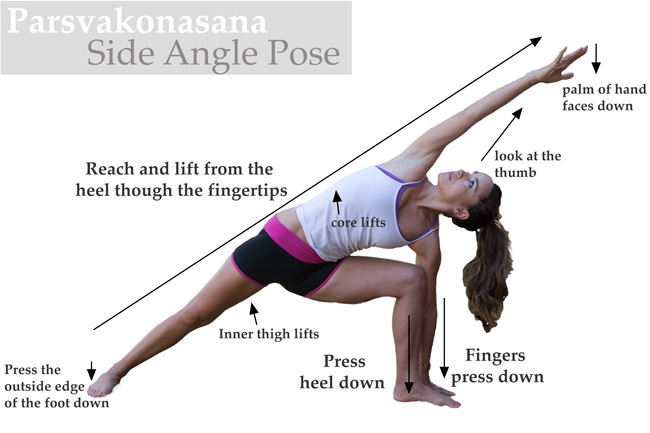 Tips for Parsvakonasana