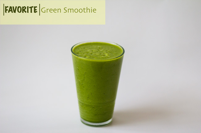 Best green smoothie recipe - pin it!