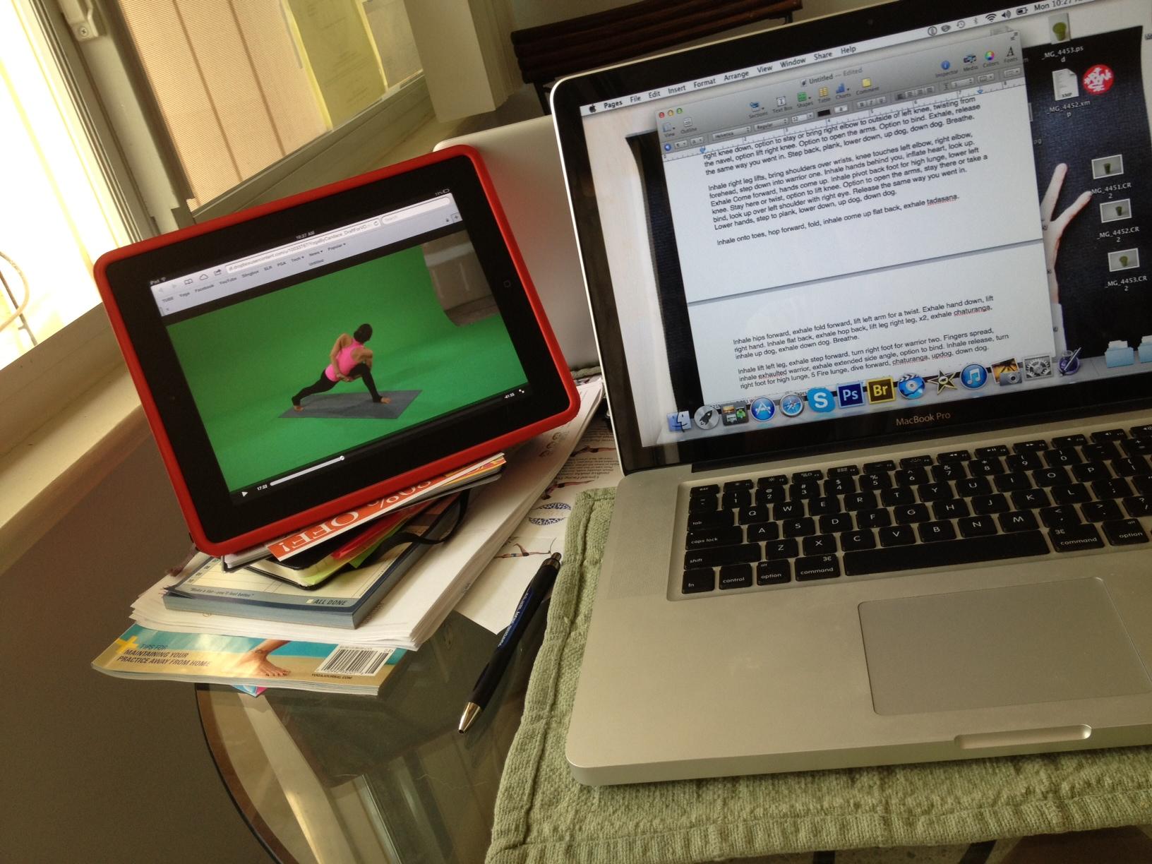 writing-script-for-yoga-dvd.JPG