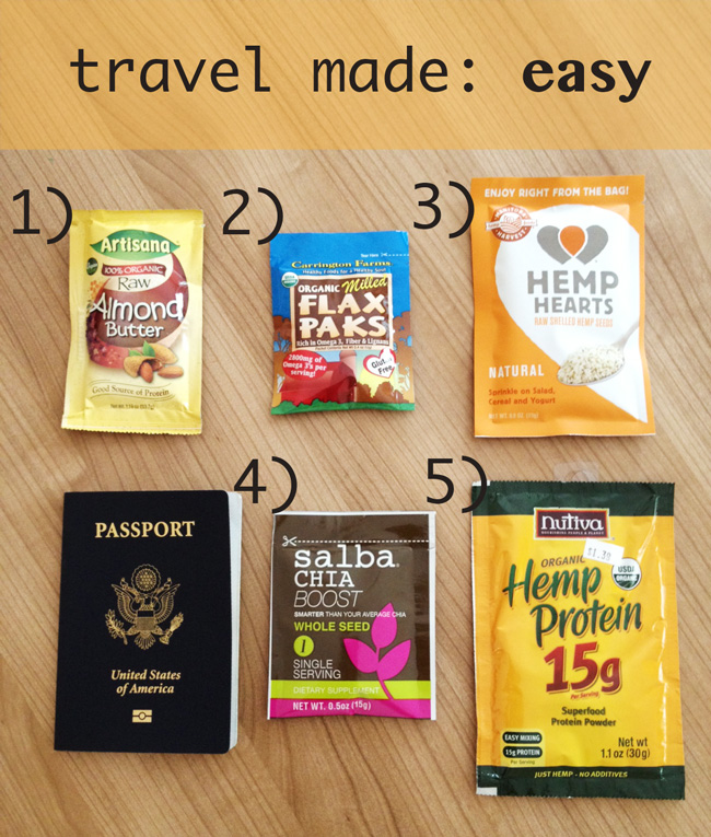 Pin it! Great individual size packets for travel.