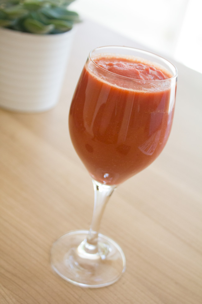 eastern carrot & pear smoothie recipe