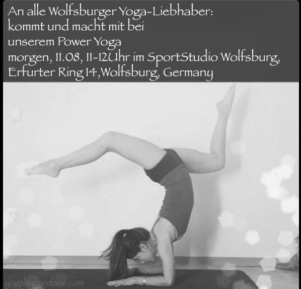 Weekly class in Wolfsburg, Germany