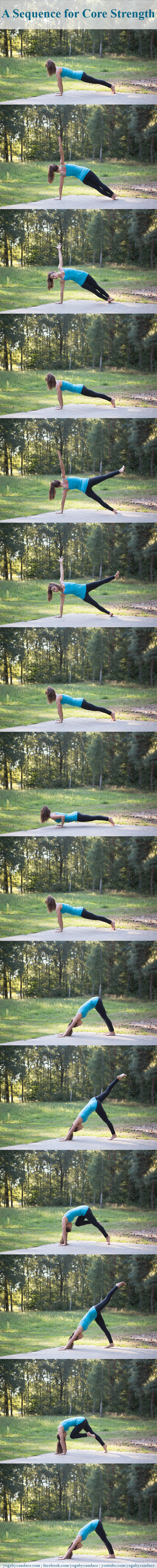 Pin it! A yoga sequence for core strength you can do right from your home.