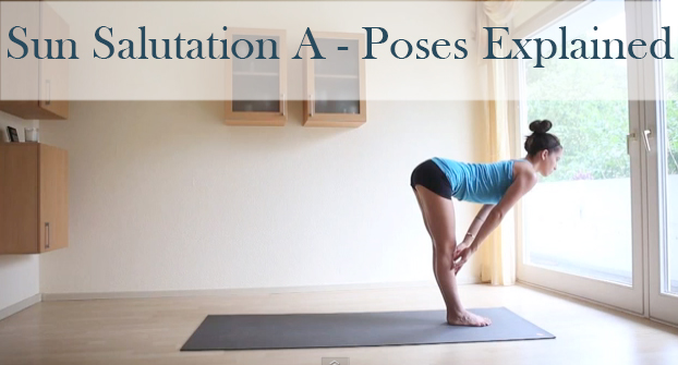 Pin it! A video that breaks down & explains the poses of Sun Salutation A.