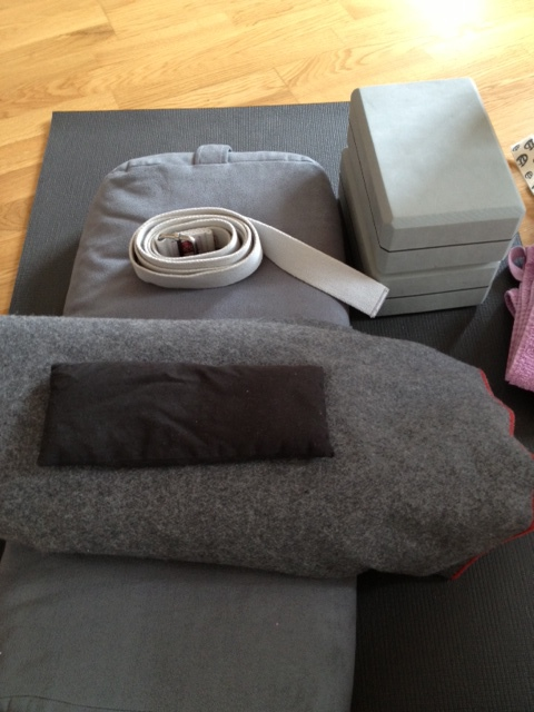 Tools for a restorative yin class