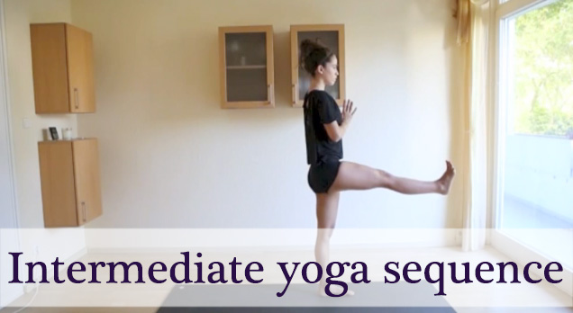 10 minute yoga video for core and balance