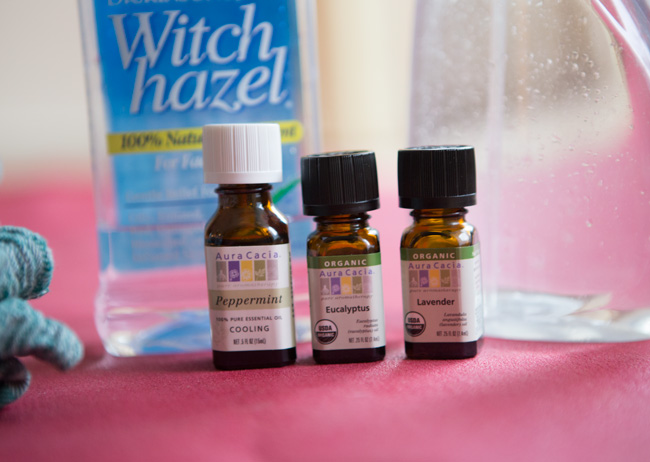 Essential oils for yoga mat cleaner