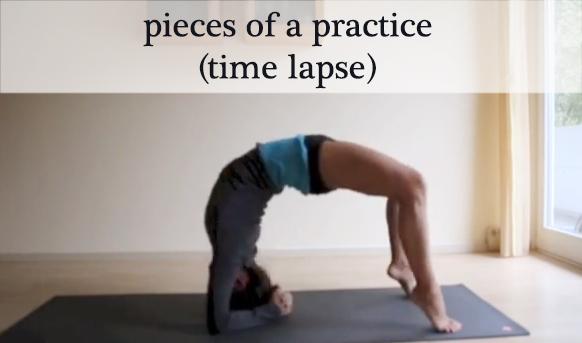 Time lapse yoga