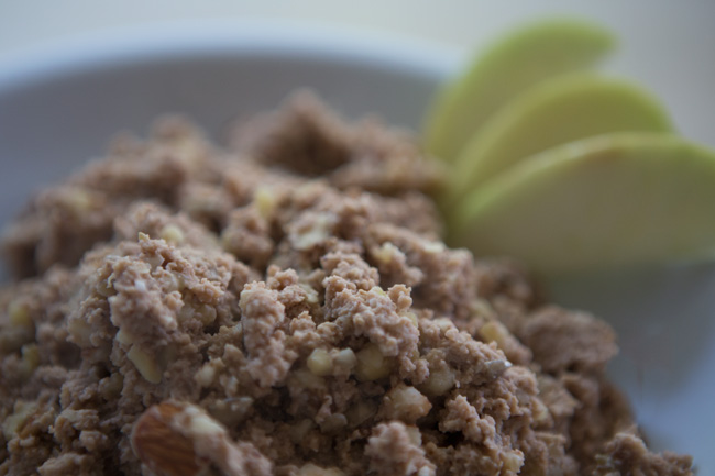 Recipe for oatmeal without the oatmeal