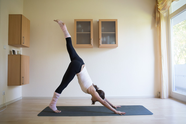 Yoga sequence for home