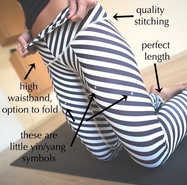 Details of balanced traveler pants by Teeki