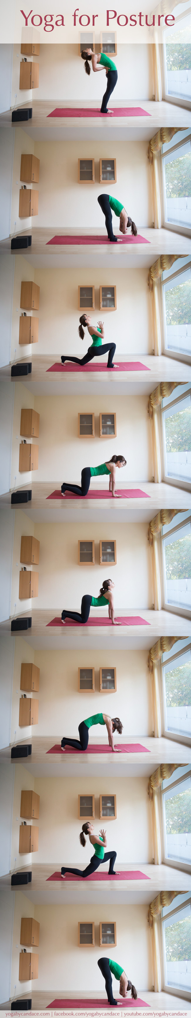 Pin it! A yoga sequence for better posture.