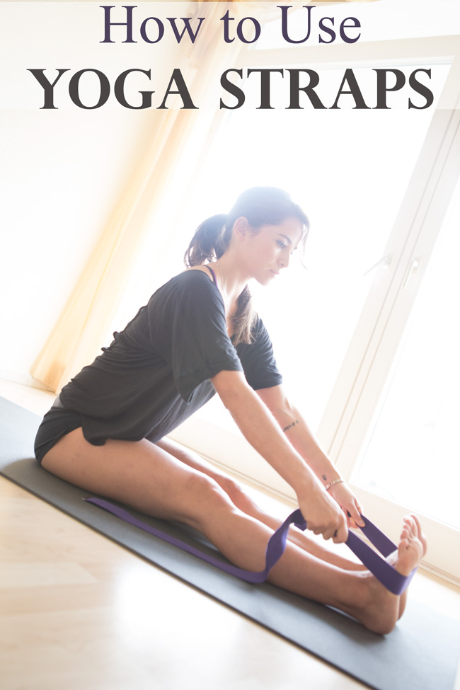 Pin it! How to use a yoga strap!