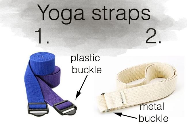Choosing a yoga strap