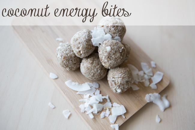 Pin it! Coconut energy bites. Gluten free, GAPS friendly.