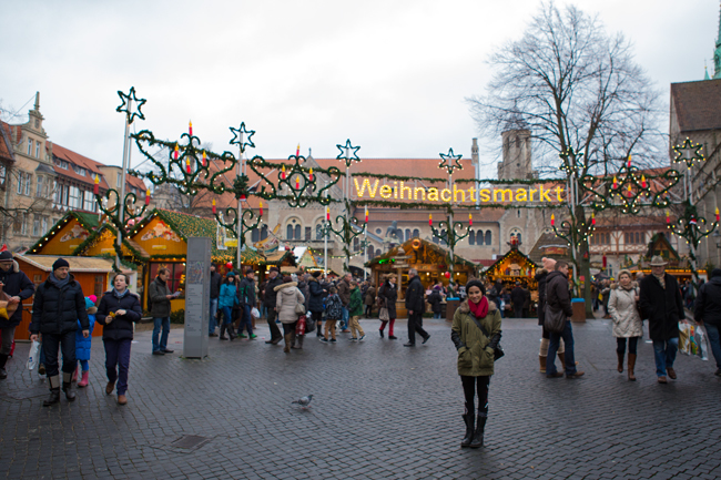 German Christmas market.