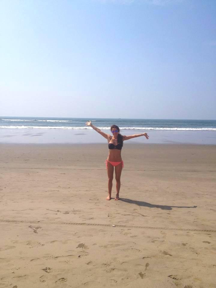 I love India thissss much. Calangute Beach, Goa