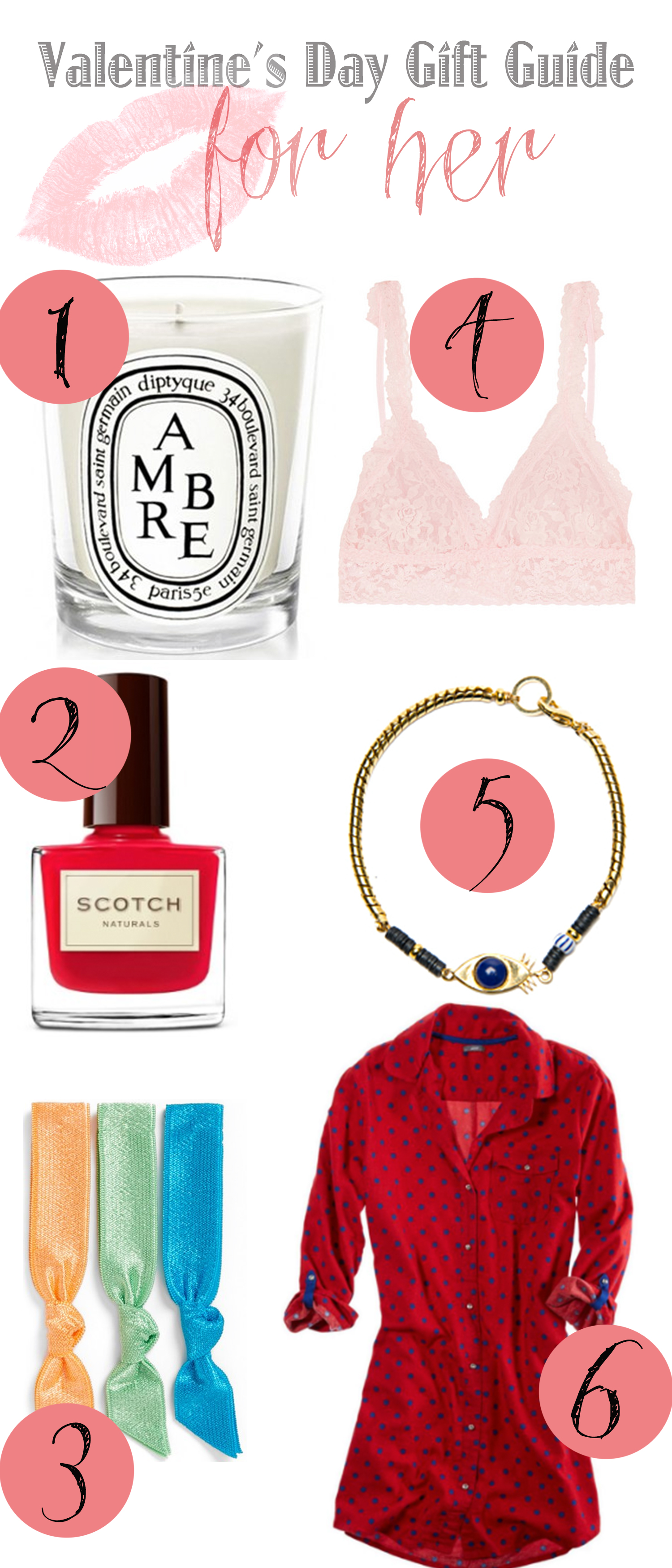 Pin it! 2014 Valentine's gift guide for her.