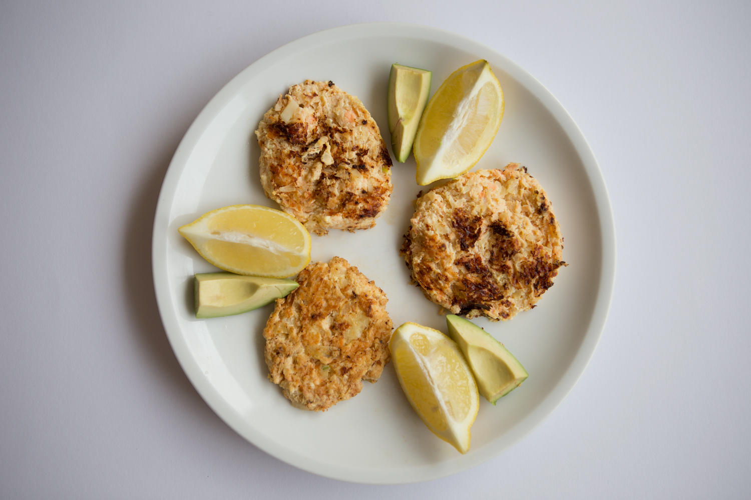 GAPS SCD PALEO Lemon Ginger Salmon Patties