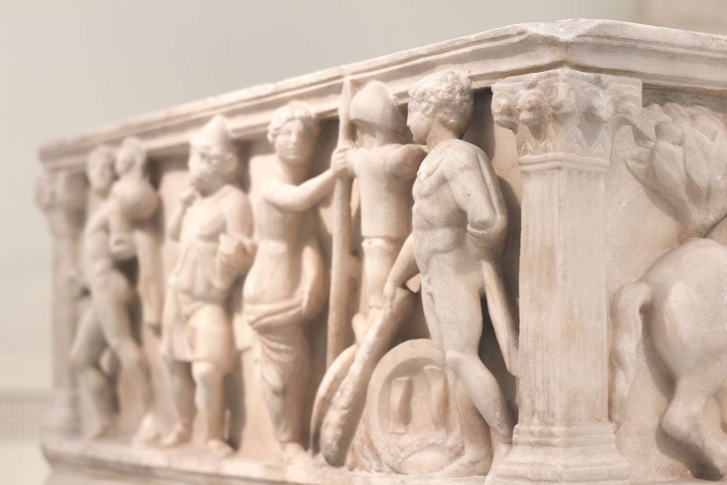 At the national archaeology museum in Athens
