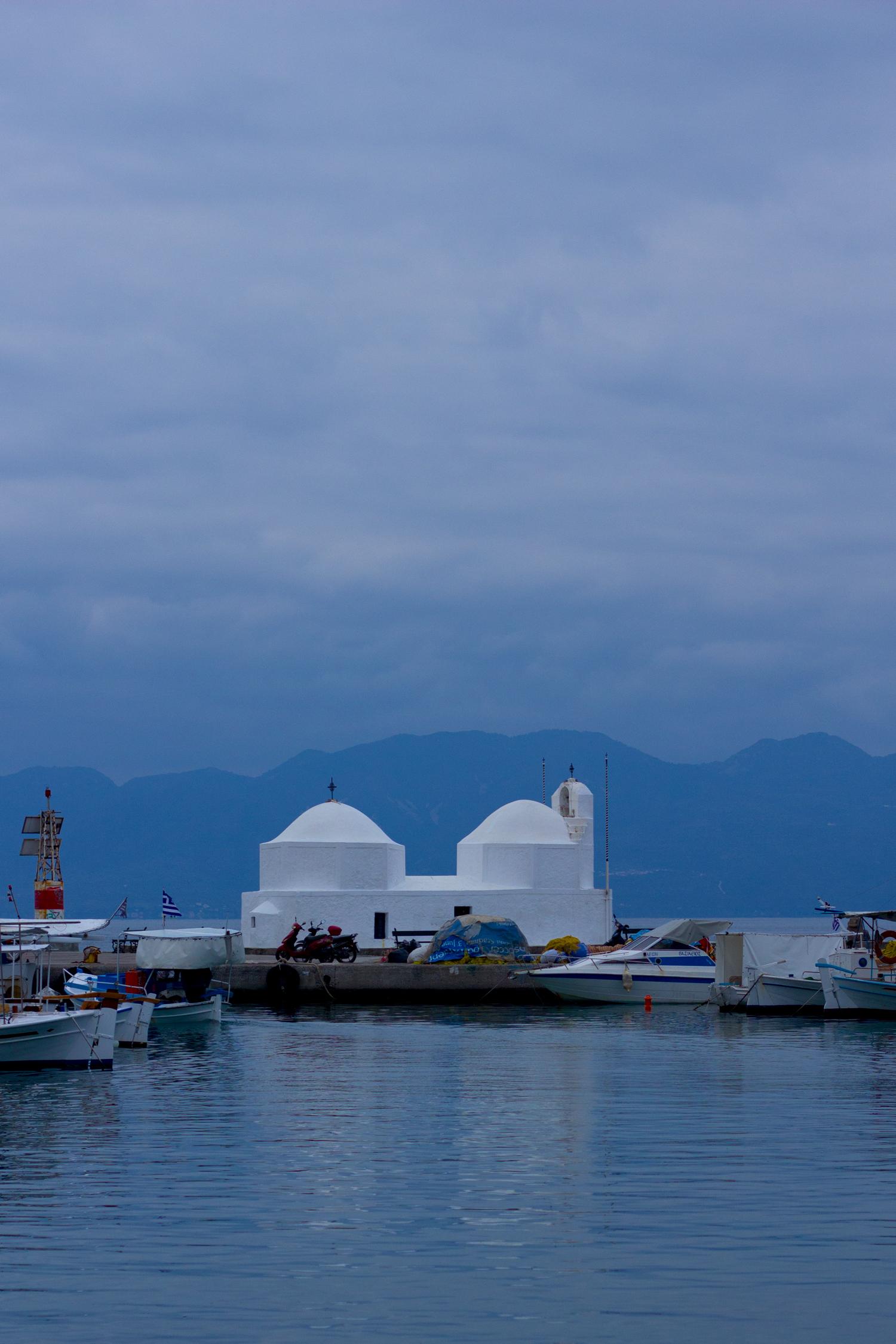 Greek island of Aegina