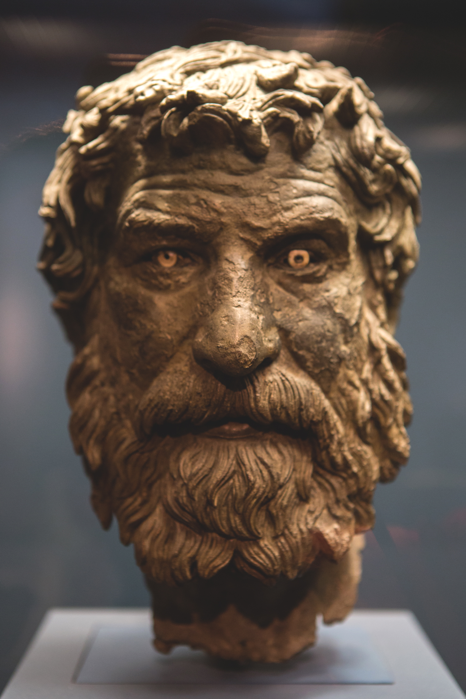 Sculpture from the national archaeology museum in Athens
