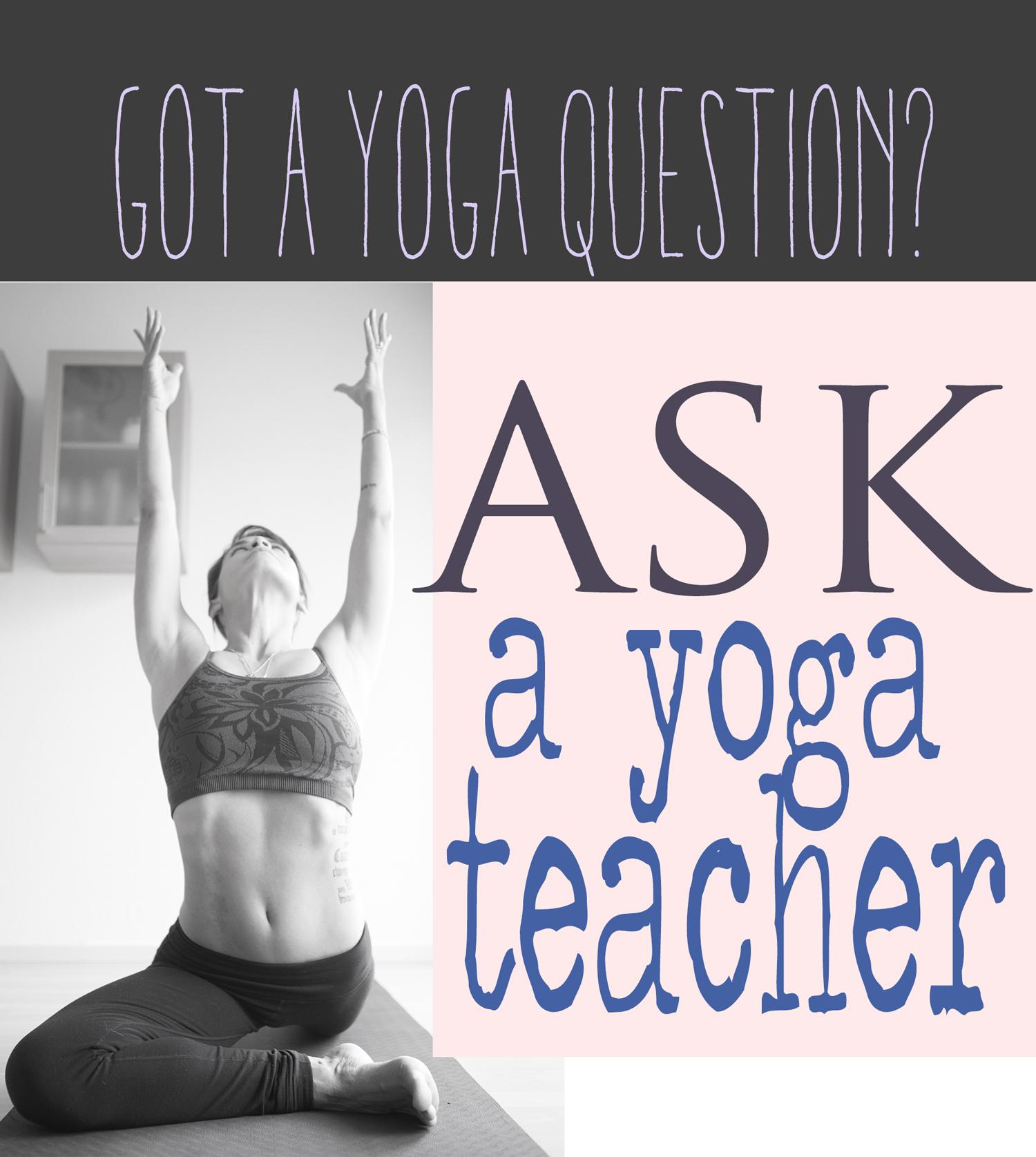 Got a yoga question? Submit it  here .  Wearing: Wunder under leggings ( similar ), Athleta bra ( similar ). Using  Manduka BlackMatPRO