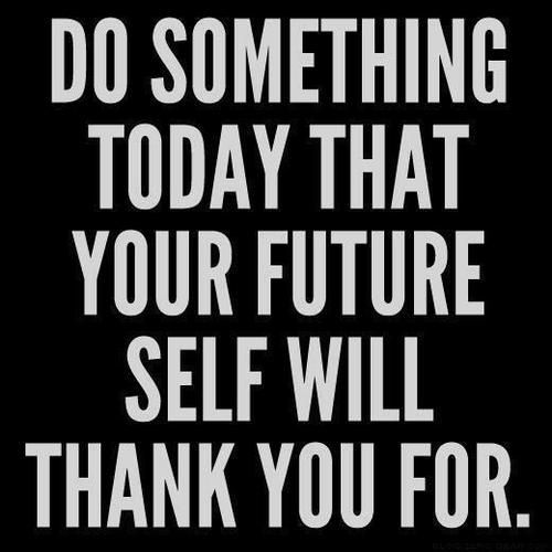 Motivational quote  via .