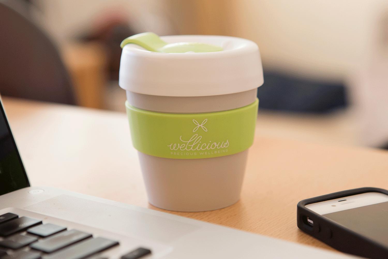 Wellicious keep cup